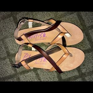 Blowfish Strappy Sandals!!